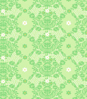 Premium Cotton Fabric-Springmaid® Elizabeth Diamond Floral, , hi-res