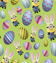 Easter Cotton Fabric 45''-Minions, , hi-res