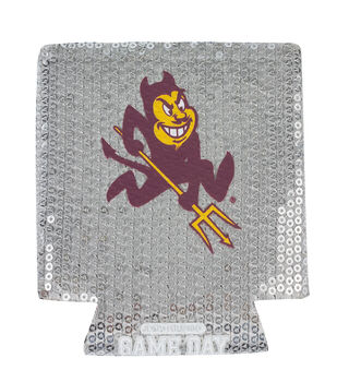 Arizona State NCAA Sequin Koozie
