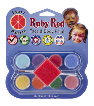 Ruby Red Face Paint Kit-Pearl