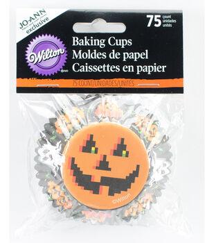 Wilton® Halloween 75ct Standard Baking Cup-Pixelween