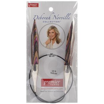 Deborah Norville Fixed Circular Needles 24'' Size 19/15.0mm