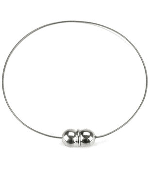 Darice Magnetic Clasp Bracelet Nickel