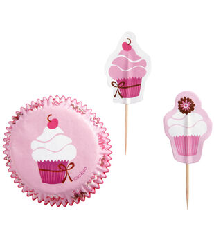 Wilton® Cupcake Party Pack-Pink Party