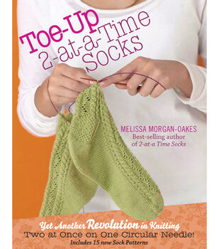 Stoney Publishing-Toe-Up 2-At-A-Time Socks