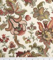 Legacy Studio Cotton Fabric-Hampton Court Jacobean Floral Tan, , hi-res