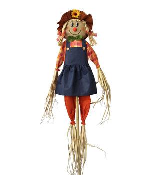 Art of Autumn 60'' Girl Fall Scarecrow