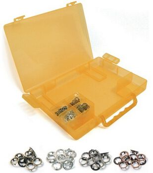 Crop-A-Dile II Case With Gromlets-Orange
