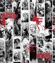 Walking Dead Comic Strip Cotton, , hi-res