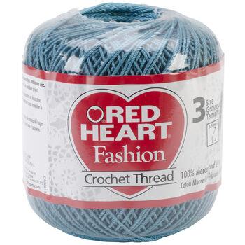 Warm Teal -crochet Thread Rh