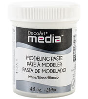 Media Modeling Paste 4oz-White, , hi-res