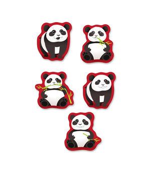 Busy Kids Learning Sticker Packs-Panda & Bamboo