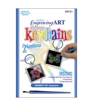 Royal Brush Engraving Art Design Your Own Rainbow Kit-Keychain