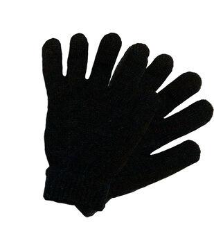 Laliberi Winter Knit Heavyweight Gloves In Black