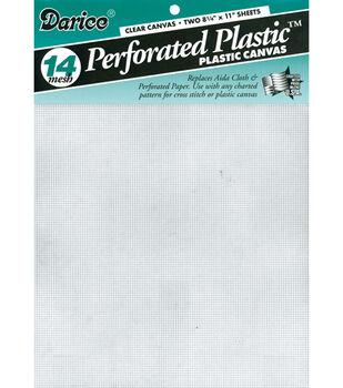 Darice 14 Count Perforated Plastic Canvas