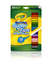 Crayola Super Tips Marker Set-20PK, , hi-res
