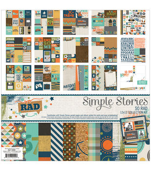 Simple Stories So Rad Collection Kit