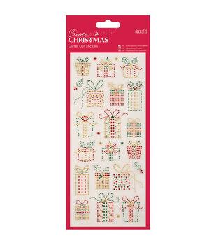 Papermania Create Christmas Dot Stickers-Christmas Presents