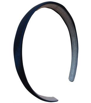 5/8 inch Satin Headband Navy