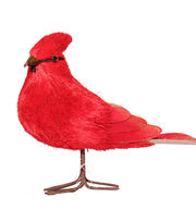 Blooming Holiday Large Standing Cardinal, , hi-res