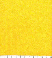 Keepsake Calico™ Cotton Fabric-Texture Vine Yellow, , hi-res