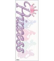 EK Success Disney Vacation Title Dimensional Sticker-Princess Glitter, , hi-res