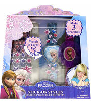 Disney Frozen Stick On Lightup Bracelets, , hi-res
