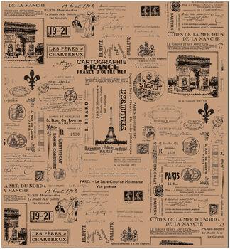 7 Gypsies Tissue Paper 4/Pk-Paris