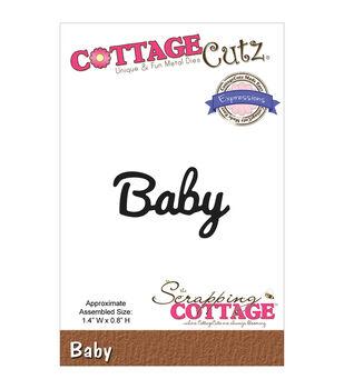 CottageCutz Expressions Baby Die