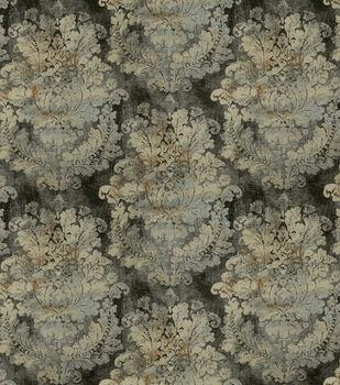 Covington Upholstery Fabric-Grand Damask Cindersmoke 949
