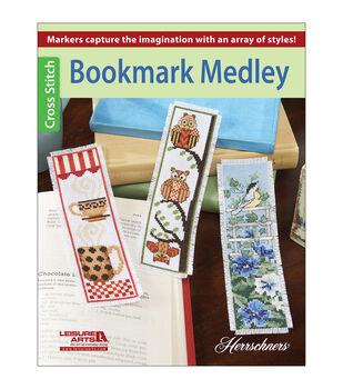 Herrschners Bookmark Medley Cross stitch Book
