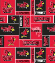 Illinois State NCAA All-over Fleece Fabric, , hi-res