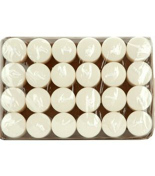 Hudson 43™ Candle & Light Collection 24pk Votive Candles-White