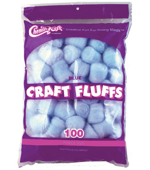 Craft Fluffs 4oz Bag 100/Pkg