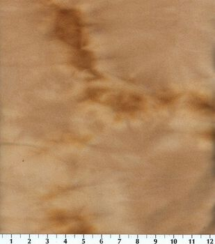 Blizzard Fleece Fabric-Khaki Tie Dye