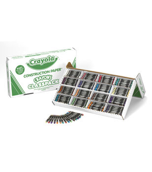 Crayola 400 count Regular Size Construction Paper Crayon Classpack