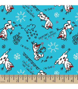 Disney Frozen Olaf Sketch Cotton