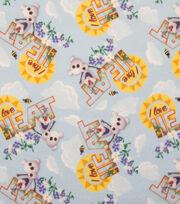 Disney Frozen Olaf I Love Heat Sweatshirt Fleece Fabric, , hi-res