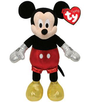 Ty Disney Mickey Mouse Sparkle Plush