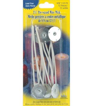 Yaley Pre-Wicked Wire Wick Clips - 6PK
