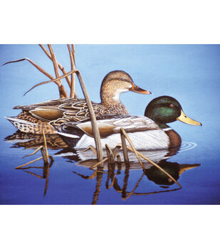 Royal Langnickel Blue Water Mallards Paint By Number Kit