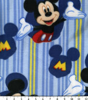 Disney Mickey Framed Fleece Fabric, , hi-res