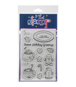 Your Next Stamp Clear Stamps-Sweet Holiday Greetings