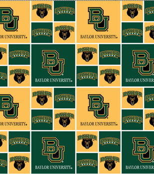 Baylor NCAA  Cotton Fabric