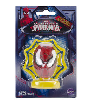 "Wilton® Candle 3"" 1/Pkg-Spider-Man"