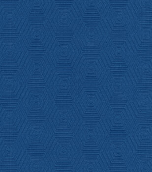 HGTV Home Upholstery Fabric-Hex Appeal Cobalt