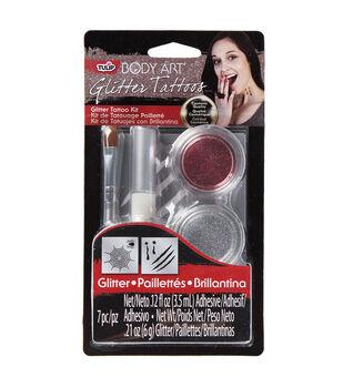 Tulip® Body Art® Glitter Tattoo Kit Red