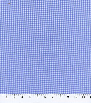 Homespun Cotton Fabric-Gingham Check