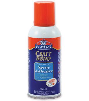 Elmers Craft Bond Extra Strength Spray Adhesive-4 Ounces