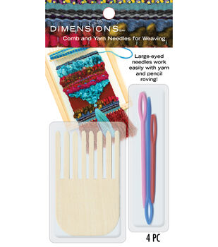 Dimensions Comb And Plastic Yarn Needles